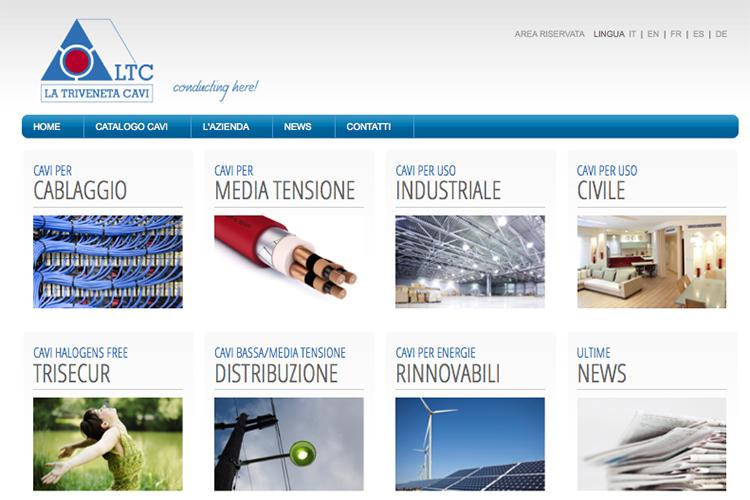 The new website of La Triveneta Cavi is now online!
