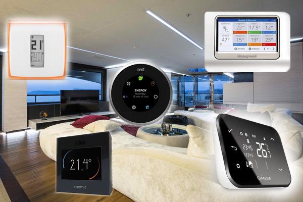 Les meilleurs thermostats connectés de l'année 2016