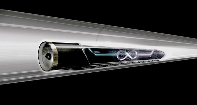 Hyperloop, le système de transport ultrarapide