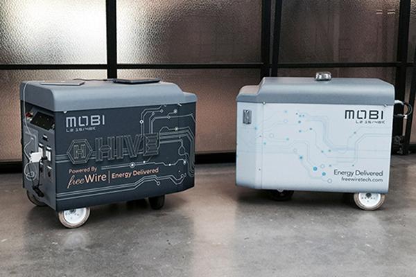 LE MOBI CHARGEUR, pour recharger les voitures électriques sans avoir besoin de la borne