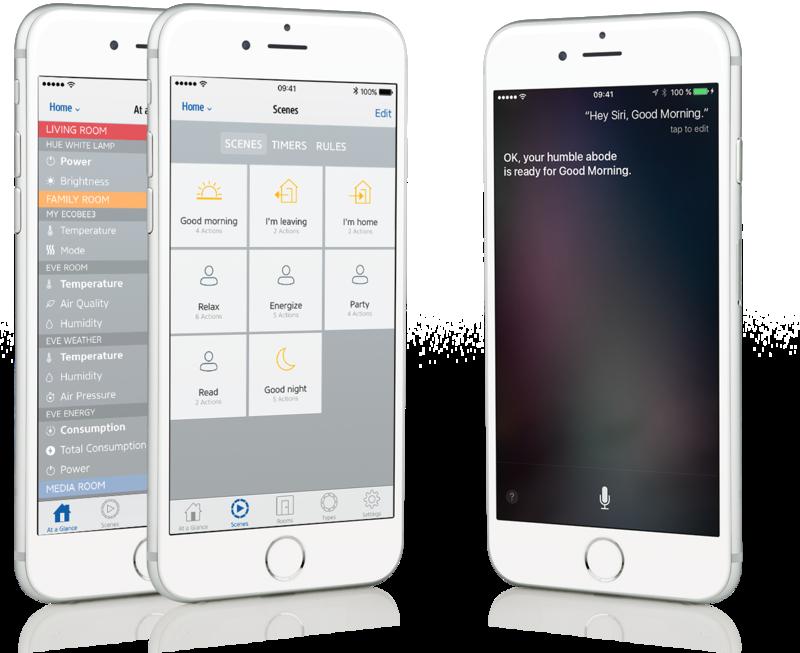 sensori eve homekit iphone