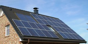 photovoltaic panels roof