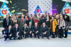 group shot of the inauguration of new plant in moldavia