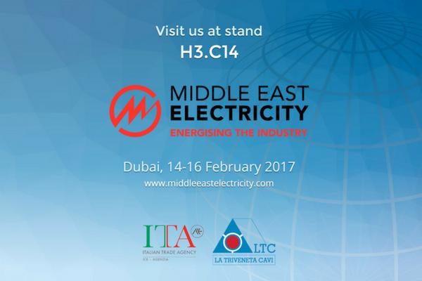 LTC presente fiera Middle East Electricity 2017 Dubai