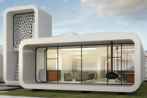 Il futuro della stampa 3D: a Dubai, il primo ufficio stampato in 3D