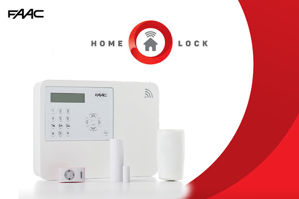 home lock by faac wireless home alarm