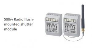 500w radio flush-mounted shutter module