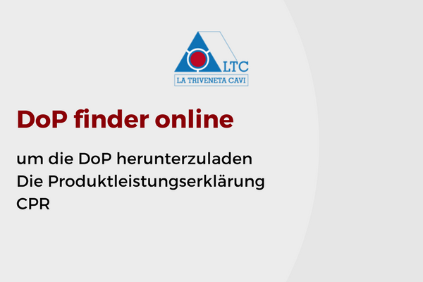 DoP finder online um die DoP herunterzuladen Die Produktleistungserklärung