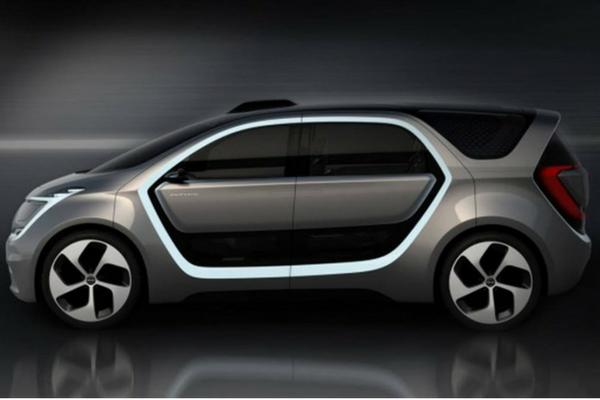 auto elettrica Chrysler Portal di FCA