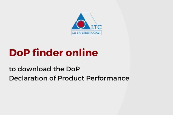 DoP finder online on LTC site page