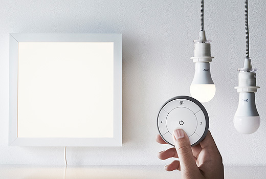 Illuminazione Smart Ikea: le lampadine a LED wireless ...