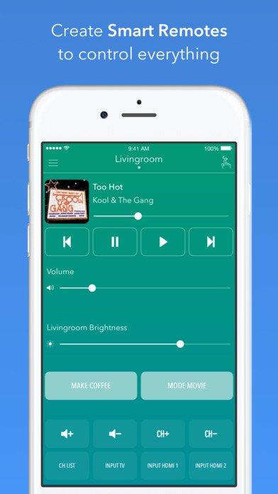 immagine app AnyMote Smart Universal Remote