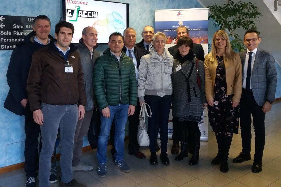 Visita G.Sacchi Elettroforniture Spa in La Triveneta Cavi