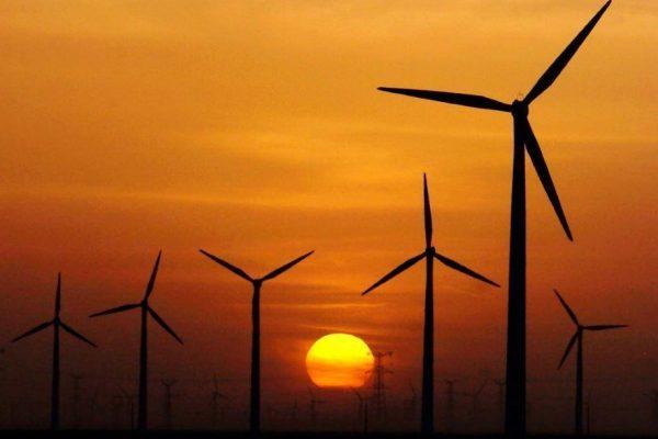 Windkraftanlagen in Teilnutzung