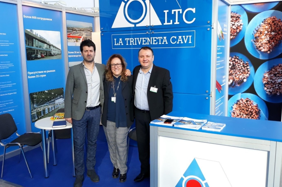 team in fiera Cabex 2018