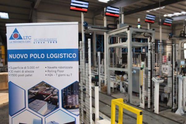 Inauguration de Nouvel entrepôt automatisé