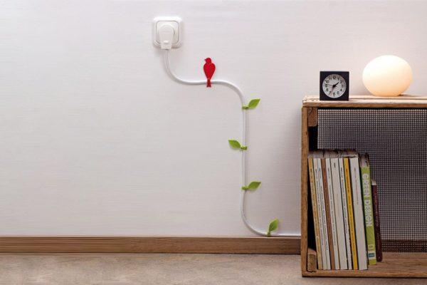 Il design rende cool gli impianti elettrici a vista.