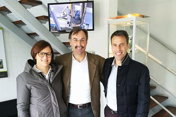 La Triveneta Cavi in visita alla sede di TKD Nettetal