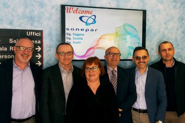 Visita di SONEPAR ITALIA alla sede di La Triveneta Cavi