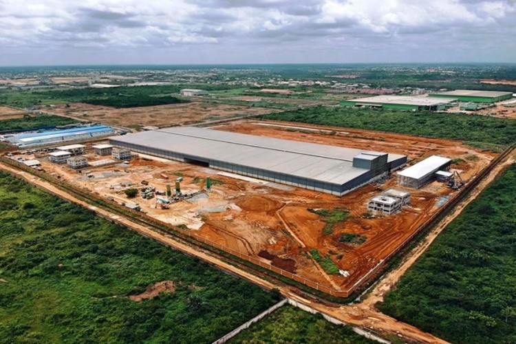 La Triveneta cavi provides 175 km of electric cables for a new state of the art production facility in Africa