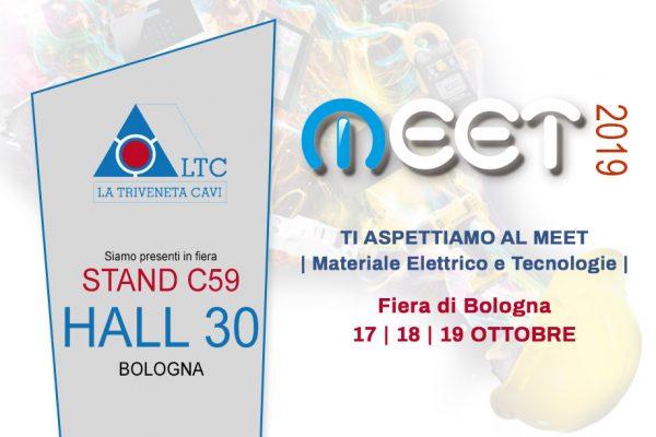 La Triveneta Cavi a MEET |Materiale Elettrico e Tecnologie | BOLOGNA 17/18/19 Ottobre 2019