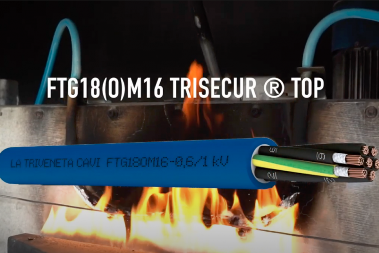 FTG18(O)M16-0,6/1 kV Trisecur Top – La massima sicurezza in caso d'incendio