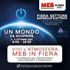 La Triveneta Cavi a MEB in Fiera 2021 – Vicenza