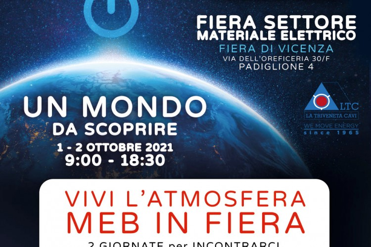 La Triveneta Cavi at MEB Exhibition 2021 – Vicenza